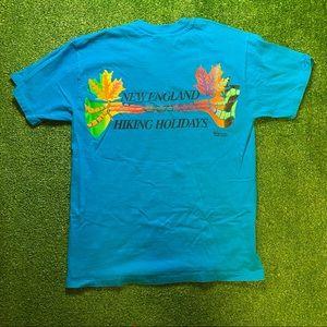 1992 VTG New England Hiking Holidays T-Shirt